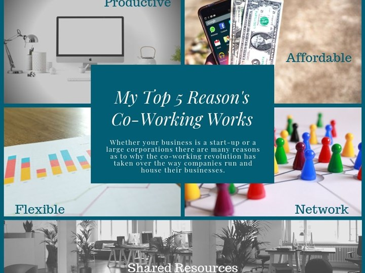 My Top 5 Reason's  Co-Working Works